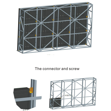 P8 Outdoor Big TV Video Wall for Advertising