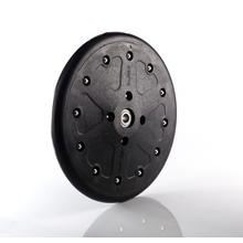 closing wheel for seeding machinery