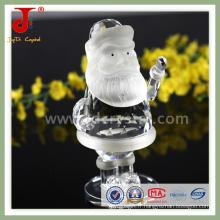 Pendentif en verre de père Noël en cristal (JD-CG-100)