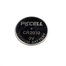 Batterie au lithium rechargeable 3v cr2032 avec batterie de montre
