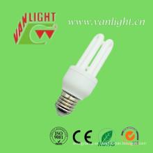 Alta calidad T3 3u CFL 15W energía ahorro lámpara