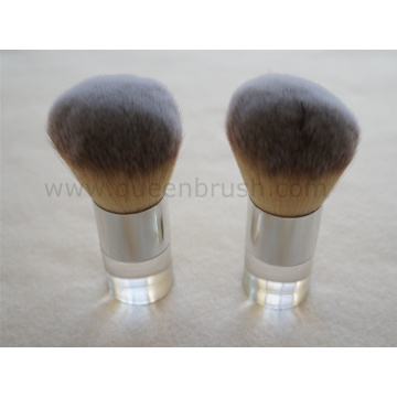 Three Tones Synthetic Hair Powder Brush