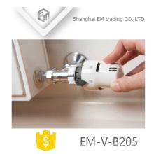 ЭМ-в-Б205 полировать латунь термостатический Клапан радиатора