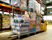 Warehouse Metal Pack And Roll Trolley