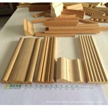 дверной косяк из китайской древесины молдинги Линьи Байи Вуд