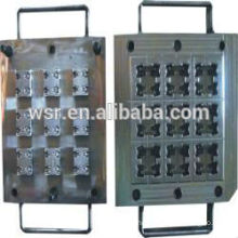 compression mould for rubbr grommet molded