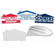 Polypropylene Printing Yard Signs Real Estate Signs For Advertise