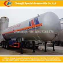 Tri-Achsen 56 Cbm LPG Gas Zylinder Druckbehälter Semi Trailer