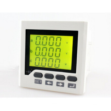 3AV6y Panel Size 72*72mm Low Price AC Three Phase Voltage Meter, LCD Digital Voltmeter with RS485