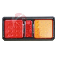 High Power LED Truck Rectangular Tail Light Tree Lens Stop/Turn Indicator LED Reat Combination Tail Light