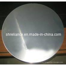 Aluminio / aluminio redondo / hoja circular / disco para la cacerola