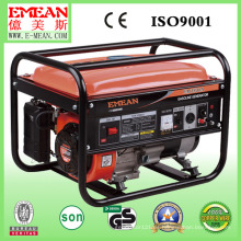 Generador de poder portátil de la gasolina del comienzo eléctrico 2kw-7kw con el CE, ISO9001
