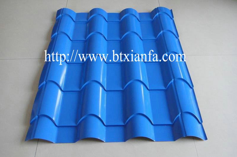 roofing tiles profiling rolling machine