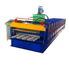 Rolo de camada dupla com controle computadorizado Formando a máquina corrugada de perfil painel de folha dupla