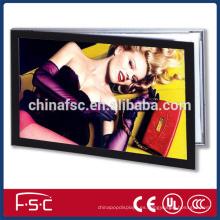 LED tablero de aluminio magnético de la foto de la publicidad