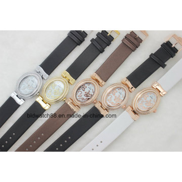 2017 New Fashion Lady Bracelet Watches Sexy Women Wristwatch with Diamond