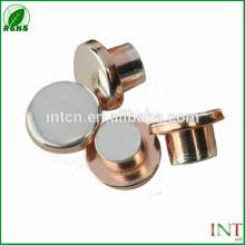 interruptor eléctrico piezas contactos de cobre plata