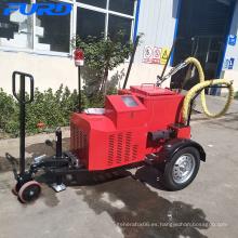 Gsoline generador motor eléctrico remolque asfalto máquina de sellado de grietas FGF-100