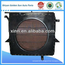 construction machine radiator for more than 100 tons machine