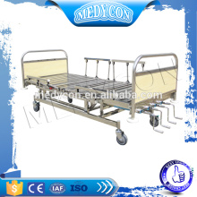 Medical manual ICU bed with five functions