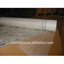 Tissu en grès en fibre de verre jaune avec une qualité élevée