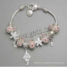 Gets.com bracelet en cuir de laiton johnny depp