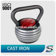 Cast iron kettlebell adjustable 48LBS