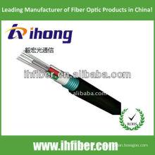 GYFTS sola vaina de acero acorazado al aire libre anti-roedor cable de fibra óptica