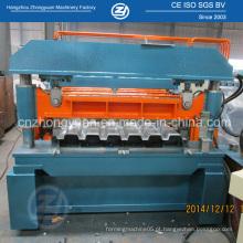 Máquina formadora de rolo fria no chão