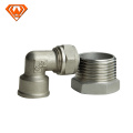 stainless steel pipe fitting BS4825 welded elbow with straight end manufactory CE/ISO