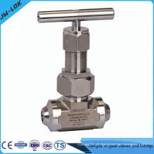 Fábrica de válvulas de controle de fluxo de aço inoxidável