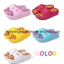 Толстая EVA флип-флоп Массаж пляжные сандалии мода крытый тапочки женщин