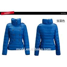 chaquetas del invierno del desgaste de la oficina de las señoras de doble-breasted