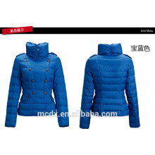 double-breasted ladies office wear winter jackets