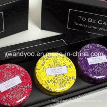 @ Traveller's Journey Seriess Mini cera de soja orgánica vela perfumada de estaño natural