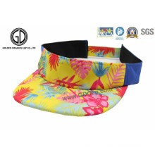 2016 New Fashion Colorful Sun Visor Cap com Small MOQ Custom Pattern