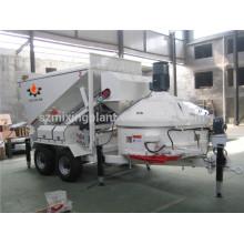 MB1200 Mobile Mini Planta de mezcla de hormigón, Equipos de hormigón por lotes
