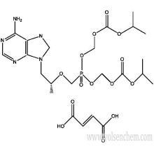 Cas 202138-50-9 Tenofovir Disoproxil Fumarate (TDF)