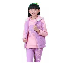 baby girls jacket Vest pants suits/kids girls set for winter Cotton-padded jacket
