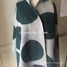 Cachemira listrada de lã de lã / cachecol de lã / silenciadores