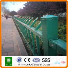 Conton fair specified steel fence