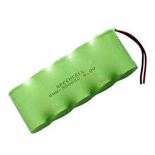 6V 3000mAh Nickel Metal Hydride Battery Pack, SC Size, for LED Light, Power Tools, UL, CE, RoHS