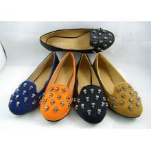 Neue Stil Frauen Kleid flache Schuhe (HCY03-128)