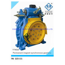 350-450kg Permanent Magnet Synchronous Gearless Elevator Machine
