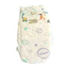 Disposable Baby Diaper with Cloth-like Back Sheet, Blue ADL and S-shaped Magic Tapes