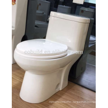CB-9520 CUPC certificated one piece siphonic floor mounted toilet for American market