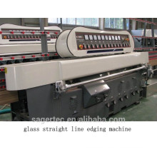 9 motors glass straight line beveling machine