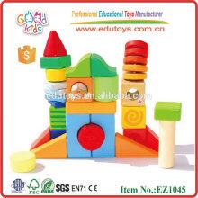 Wooden Kids 3D Building Blocks