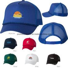 Polyester / Baumwolle Fünf-Panel Trucker Caps für Werbegeschenke