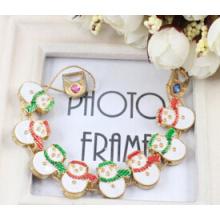 Christmas Jewelry/Christmas Bracelet/Christmas Snowman (XBL13140)